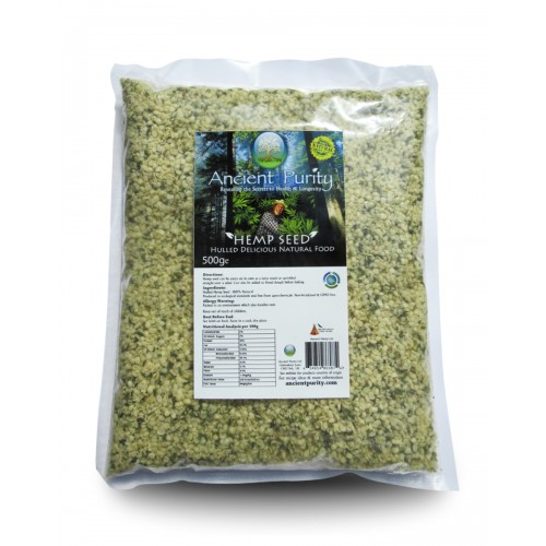 Hemp Seed - 500g (Hulled no shell) Omega 3/6/9