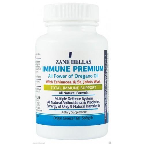 Immune Premium - 60 Caps (Zane Hellas)