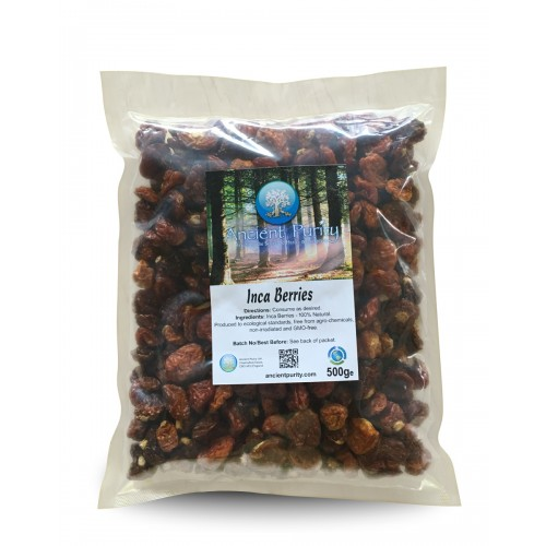 Inca (Golden) Berries (Vits A, C, E, K1, B1, B2, B3) 500g