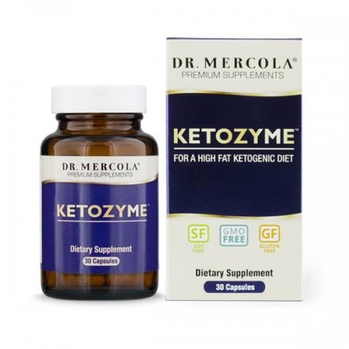 Ketozyme (Keto Diet) Dr Mercola - 30 Caps