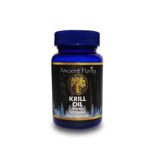 Krill Oil (Omega 3 EPA/DHA) 500mg / 60 Caps