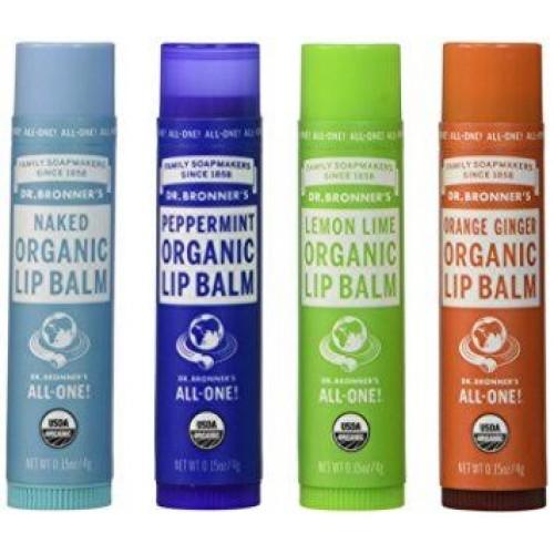 Lip Balm - Organic (Dr Bronner) 4g
