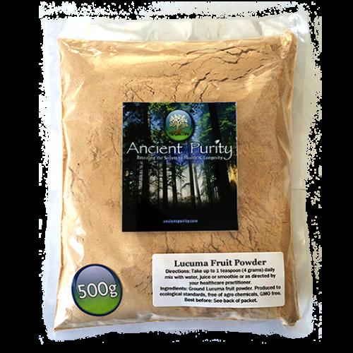 Lucuma Fruit Powder - 500g (B Vitamins / Minerals)