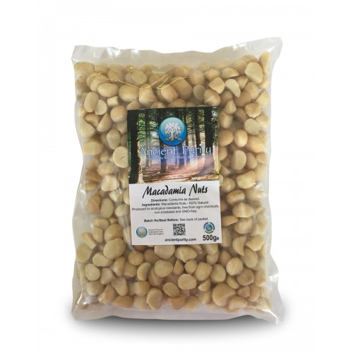 Macadamia Nuts - 500g (Whole / Raw)