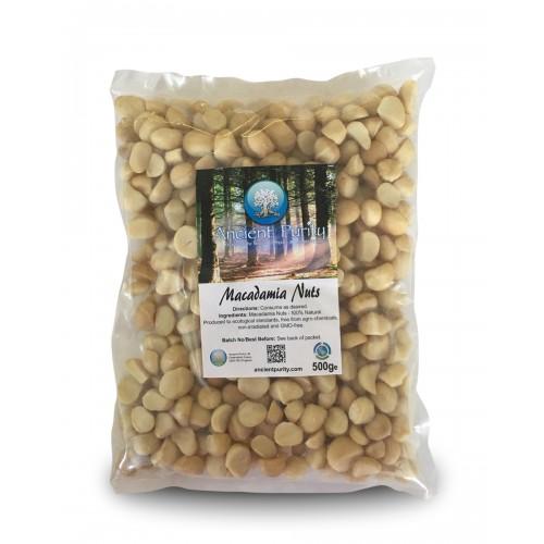 Macadamia Nuts - 500g (Whole / Raw)
