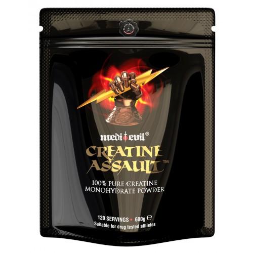 Creatine Monohydrate 600g (100% Pure) Medievil Brand