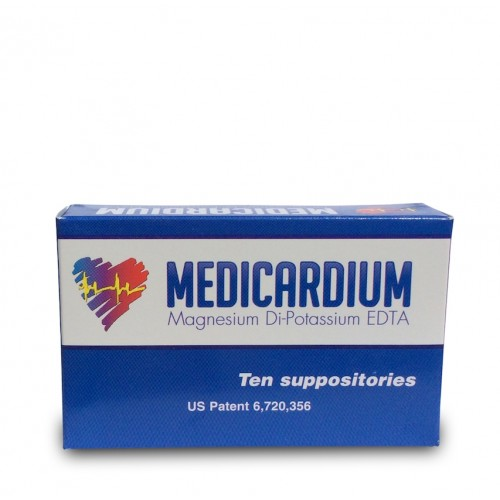 Medicardium (Heavy Metal/Calcification Detox) 10 Suppositories