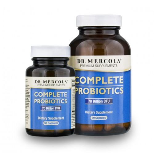 Complete Probiotics (Dr Mercola) 30/90 Caps