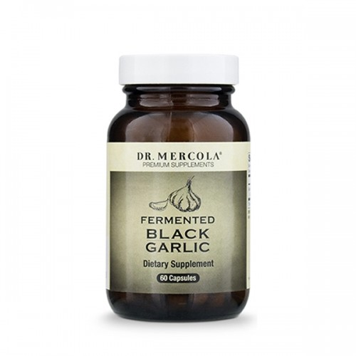 Garlic (Black Fermented) Dr Mercola  - 60 Caps