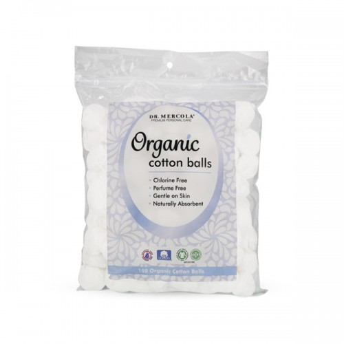 Cotton Balls (Organic) Chlorine/Perfume FREE - 100