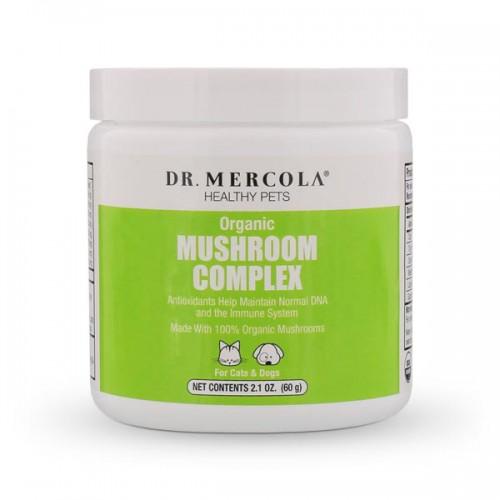 Healthy Pets Organic Mushroom Complex - 60g (Dr Mercola)