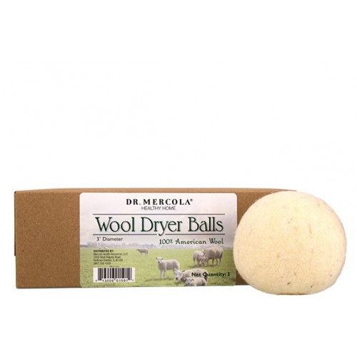Wool Dryer Balls (3 per box): 1 box