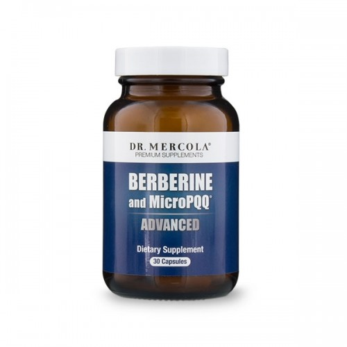 Berberine & MicroPQQ Advanced (Mercola) 30 Caps