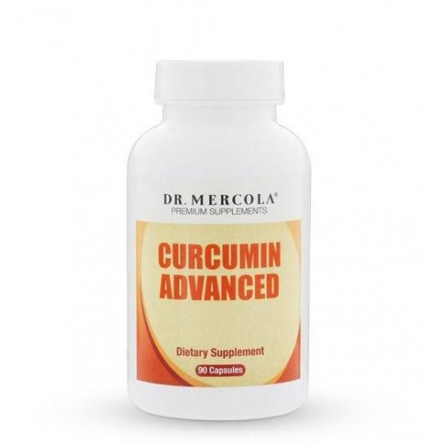 Curcumin Advanced - 500mg  Dr Mercola 30/90 Caps