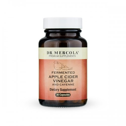 Fermented Apple Cider Vinegar / Cayenne (Dr Mercola) 30 Caps