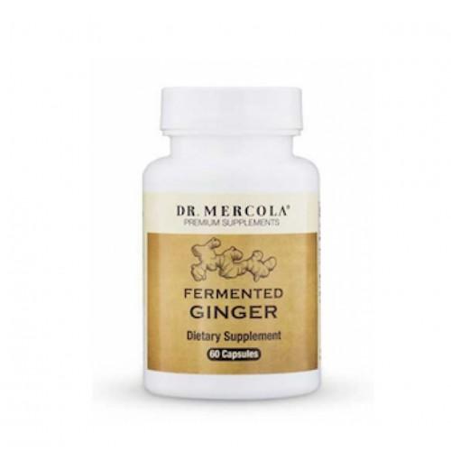 Ginger Fermented - 60 Caps (Dr Mercola)