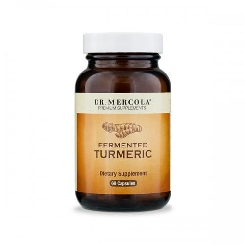 Fermented Turmeric (Dr Mercola) 60 Caps