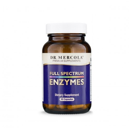 Full Spectrum Enzymes (Dr Mercola) 90 Caps