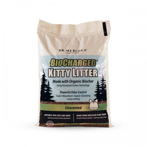 Kitty / Dog Litter- biocharged (organic) Pine Tree 4.5kg