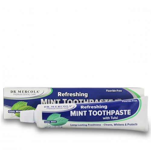 Toothpaste Mint & Tulsi - Dr Mercola