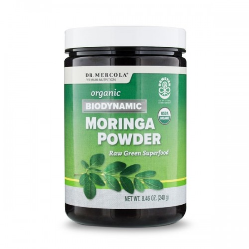Moringa Powder (Biodynamic) Dr Mercola 240g