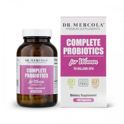 Complete Probiotics For Women 60/180 Caps (Mercola)