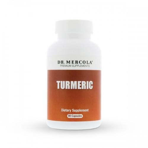 Turmeric Root Organic - 90 Caps (Organic Ginger/Turmeric Extract)