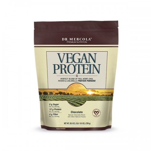 Vegan Protein Powder - Dr Mercola - 750g