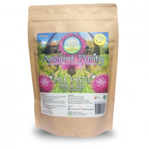 Milk Thistle - Herb & Seed Powder (Liver Balance) 250/400g