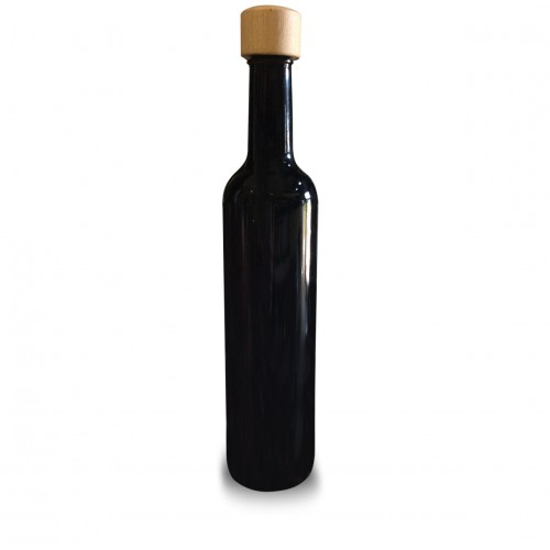 Miron Glass Bottle (Dark Violet Glass) 500ml