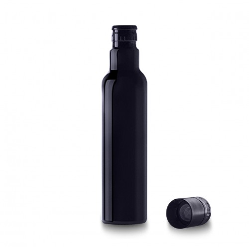 Oil Bottle (Miron Glass) with Seal Cap - 250ml