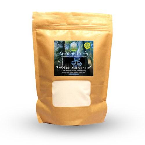MSM Organic Sulphur - 500g (Sulfur Study Supplied)