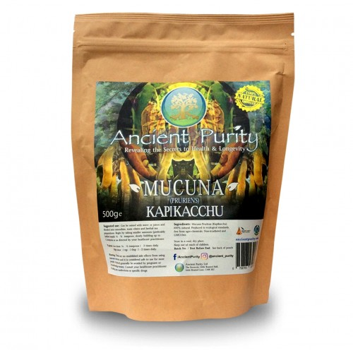 Mucuna (Pruriens) Kapikacchu (Adrenal/Brain/Libido) 250/500g