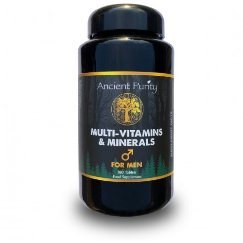 Multi-Vitamins & Minerals - For Men (Ancient Purity) 180