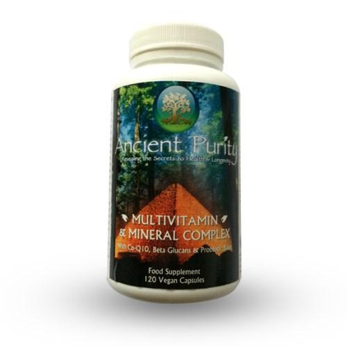 Multi - Vitamin & Mineral Complex - 120 Capsules (Food State)