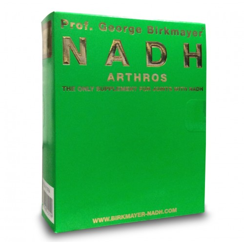 NADH Arthros (For joints) (NADH/MSM/Glucosamine & Chondroitin) 60 caps