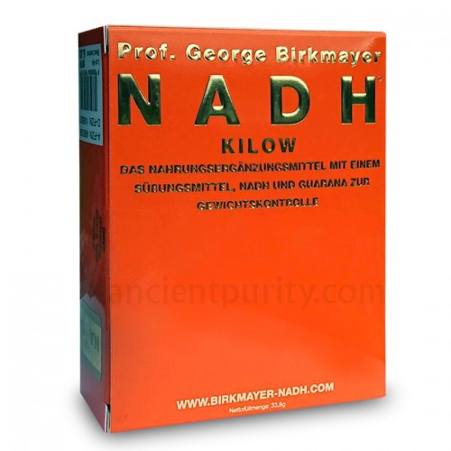 Kilow - NADH (Weight Loss) + Green Tea Extract/Guarana 60 caps