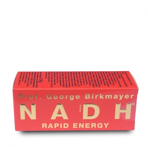 NADH Rapid Energy (20mg) - 60 Tablets.