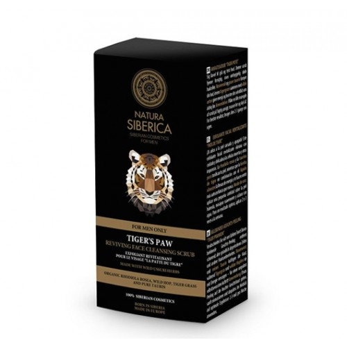 Face Cleansing Scrub - Natura Siberica (Tiger's Paw) 50ml