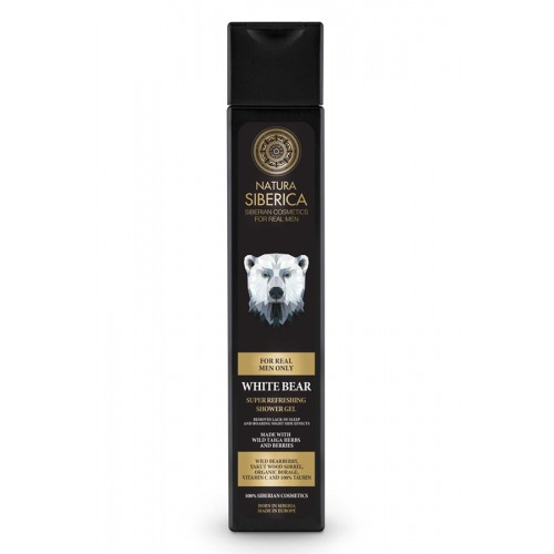 Shower gel - Natura Siberica (White Bear) 250ml