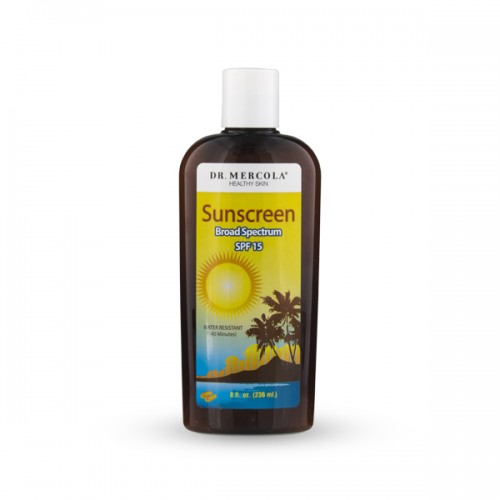 Natural Sunscreen SPF 15 / 30 (Broad Spectrum) 236ml Mercola
