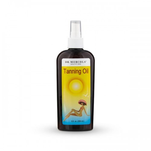 Natural Bronzer / Tanning Oil Spray-236ml (Mercola)