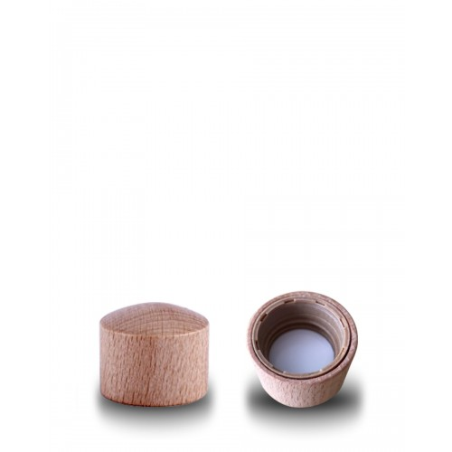 Wooden Cap / Lid for Eco / Energy Thank you Bottles