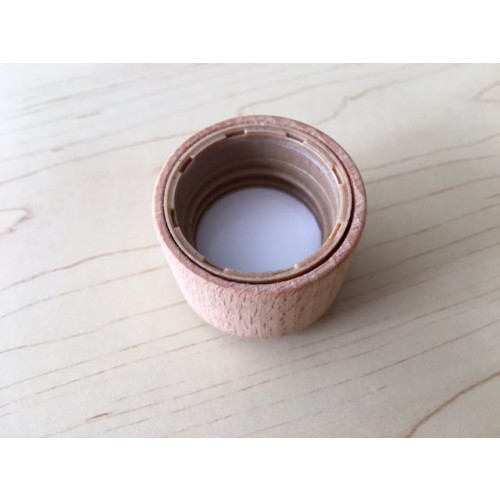 Wooden Cap / Lid for Eco / Energy Thank you Bottle