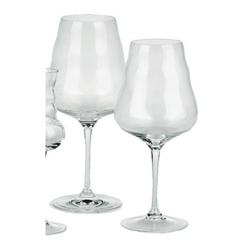 Wine Glass - White / Red (mouth blown)