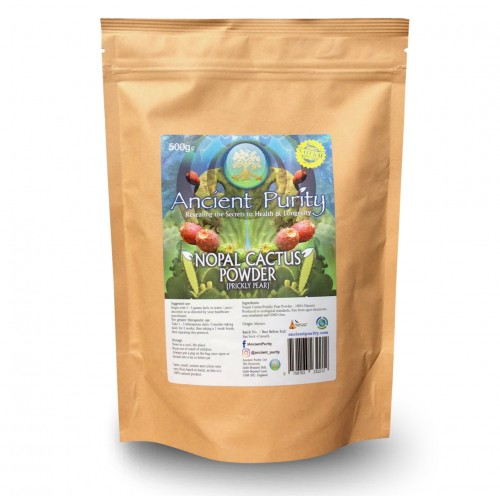 "Nopal Cactus ""Prickly Pear "" Raw Ground Powder 250/500g"