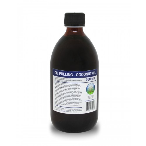 Oil Pulling (Coconut) - 500ml (Mouth Health / Detox)