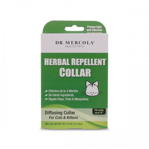Herbal Repellent Collar - For Cats & Kittens