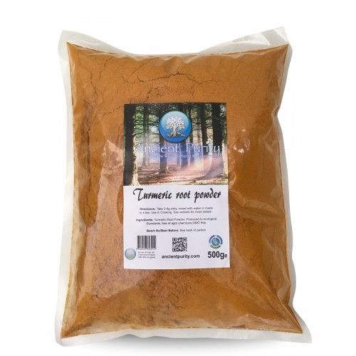 Turmeric Root - 500g / Ground Powder (Organic)
