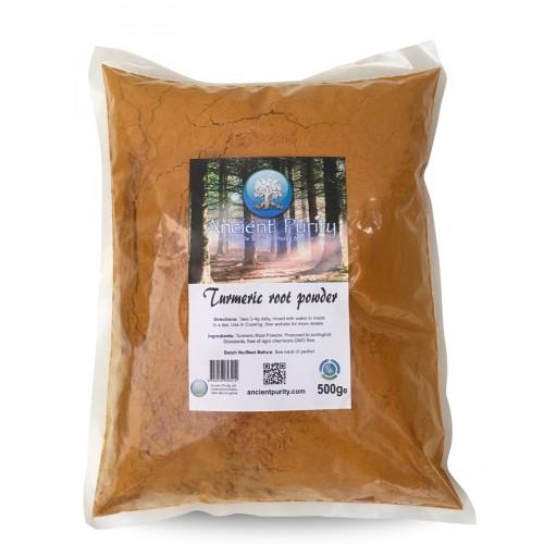 Turmeric Root - 500g / Ground Powder (Organic)